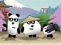 3 Panda Japonya Macerası