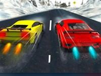 3D Karlı Tepeler Yarışı