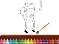 Adventure Time Boyama Kitabı