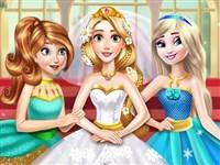 Altın Prenses Gelinlik Giydir