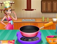 Anna Yemek Yapıyor