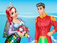 Ariel ve Eric Düğün Hazırlığı