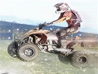 ATV Motor Dağ Yarışı