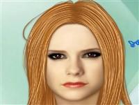 Avril Lavigne Makyajı