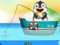 Balık Tutan Penguen