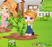 Barbie Bebek Bahçıvanlık Zamanı