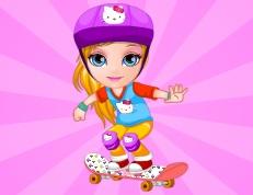 Barbie Bebek Kaykay