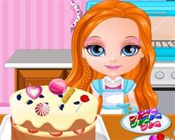 Barbie Bebek Kek Dükkanı