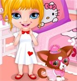 Barbie Bebek Köpek Tedavisi