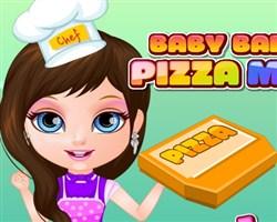 Barbie Bebek Pizza Yapıyor
