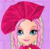 Barbie Bebek Saç Tasarımı