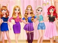Barbie Disney Buluşması