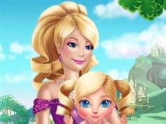 Barbie ile Bebek Bakma