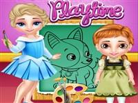 Bebek Elsa ve Anna Oyun Zamanı