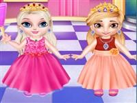 Bebek Prensesler Giydirme