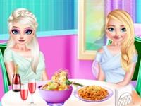 Buz Prensesleri Öğle Yemeğinde