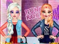 Buz Prensesleri Punk Tarzı