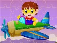 Çocuk Uçak Yapboz