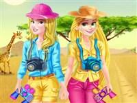Disney Kızları Safari Gezintisi