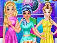 Disney Prensesleri Kolej Modası