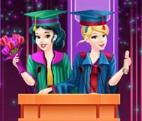 Disney Prensesleri Mezuniyet Balosu