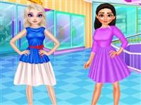 Disney Prensesleri Yaz Alışverişi