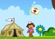 Dora Hayvanlara Yardım Ediyor