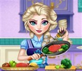 Elsa Gerçek Yemek Yapma