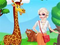 Elsa Hayvanat Bahçesinde