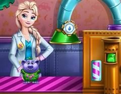 Elsa'nın Oyuncak Fabrikası