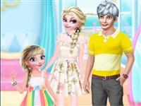 Elsa ve Ailesi Yaz Tatilinde