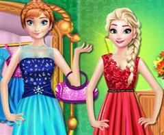 Elsa ve Anna Alışveriş