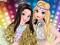 Elsa ve Anna Dj