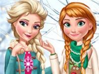 Elsa ve Anna Kış Trendleri