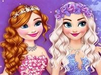 Elsa ve Anna Peri Diyarında