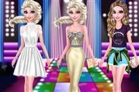 Elsa ve Arkadaşlarını Giydir