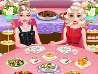 Elsa ve Barbie Yemek Randevusu