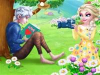 Elsa ve Jack İlk Karşılaşma