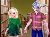 Elsa ve Jack Kütüphanede Aşk