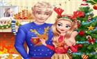 Elsa ve jack Yılbaşı Hazırlığı