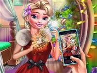 Elsa Yeni Yıl Selfisi