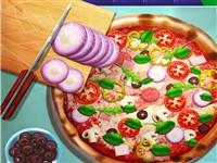 Gerçek Pizza Yapımı