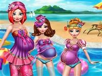 Hamile Anneler Yaz Tatilinde