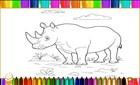 Hayvanat Bahçesi Boyama Kitabı