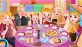 Hazel Bebek Aile Yemeği