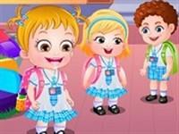 Hazel Bebek Anaokuluna Başlıyor