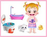Hazel Bebek Banyo Temizleme