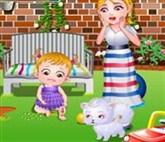 Hazel Bebek Yaralı Bacak