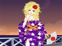 Japonya Güzeli Giydirme