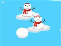 Kardan Adama Kar Topu Fırlat